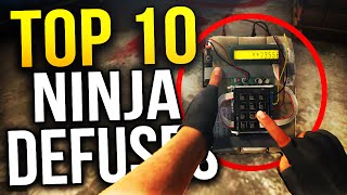 Top 10 BEST Ninja Defuses In CS:GO History
