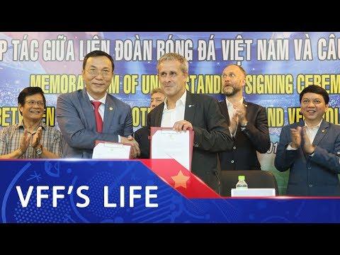 VFF ký hợp tác phát triển trên nhiều lĩnh vực với CLB VfL Wolfsburg (CHLB Đức)