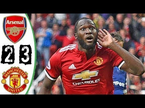 Arsenal vs Manchester United 2-3 ● Goals & Highlights