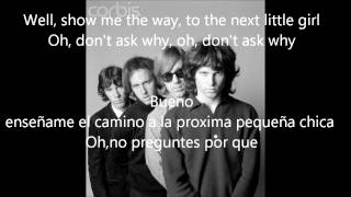 The Doors- Alabama Song (Whiskey Bar) (Subtitulada Ingles-Español)