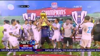 Juara Bhayangkara Trofeo 2017 <b>Arema</b> FC Angkat Trofi Perdana Pra Musim 2017  NET24