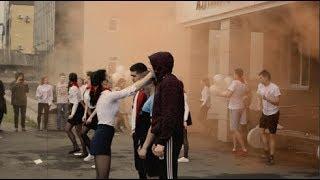 ЛУЧШИЙ ФЛЕШМОБ ВЫПУСКНИКОВ АЛТАЯ 2018  АКПЛ  БАРНАУЛ