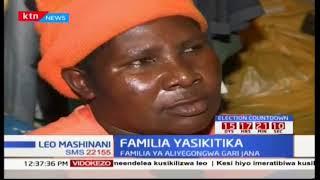 Aliyosema mkewe Baba chungwa kuhusiana na dafrau aliyopatwa baada ya kuskia ajali ya mumewe