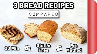 3 Bread Recipes COMPARED #ad