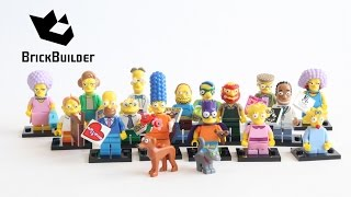 Lego Simpsons minifigures Series 2 - Quick Look