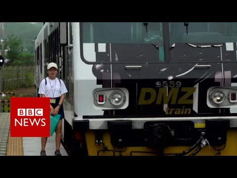The world's weirdest train journey - BBC News