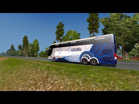 New RN Shyamoli Bus Mod || ETS2 Game Play || RJ Solution