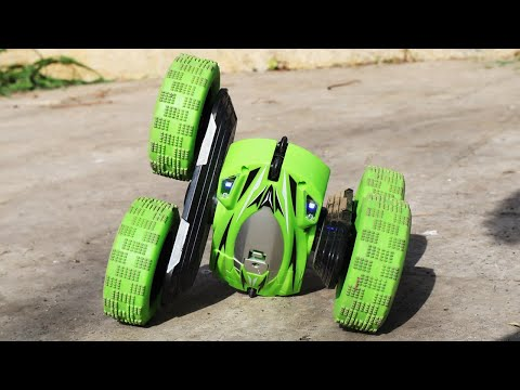 RC Car with Crazy Stunt Skills!