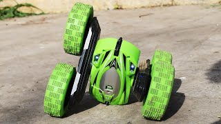 RC Car with Crazy Stunt Skills!