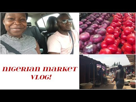 COME TO THE MARKET WITH ME! || AFRICAN GROCERY HAUL + MARKET VLOG (Abuja, Bwari)