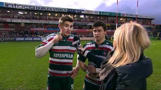 Toby Flood and Ben Youngs: We've got to keep winning
