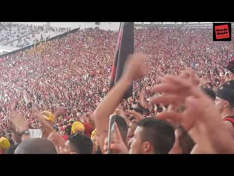 Gol do Flamengo Uribe 3x0 Fluminense e Festa da Torcida no Primeiro Gol