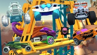 HOT WHEELS RACE OFF / HOT WHEELS TRACK BUILDER GARAGE / All Offroad / Alternative Cars