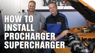 How-To Install ProCharger Supercharger Ford Mustang Motorz #55