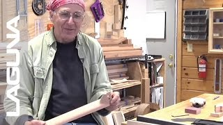 Chuck Marfione Guitar Neck Demo - CNC - Laguna Tools