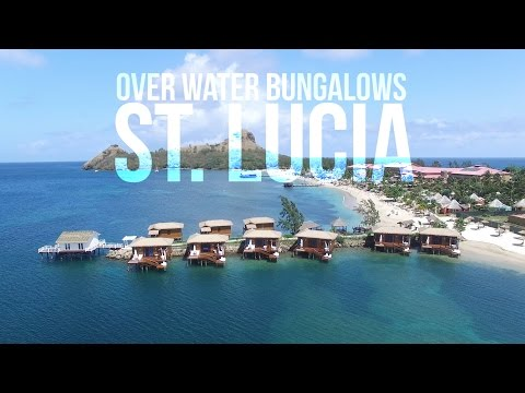 Sandals St. Lucia Overwater Bungalow Tour (New May 2017)