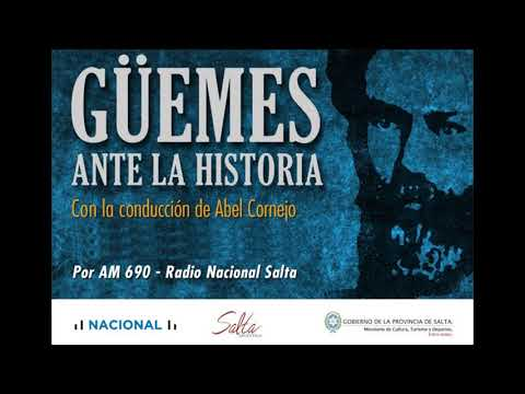 "Video: Güemes ante la historia. Quinto programa. ""Güemes 1807 a 1810"""