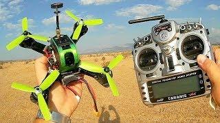 Furibee P180 180mm PNP BNF RTF FPV Racer Drone Flight Test Review