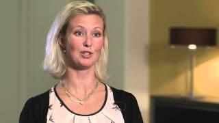 """""""Man känner sig utvald"""", säger Eva Dahlgren trainee på Svevia"""