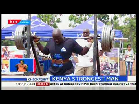 Meet Kenya's strongest man