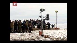 В Шимском районе, на берегу озера Ильмень проходят съемки фильма «Коридор бессмертия»
