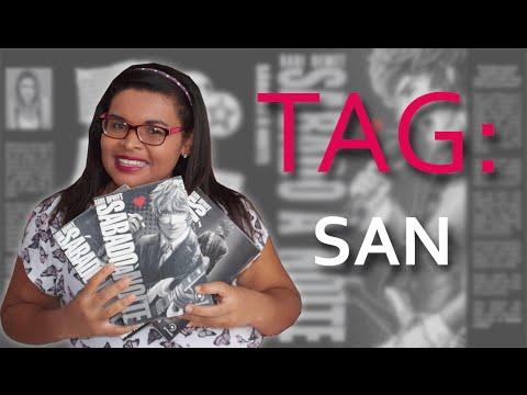 TRACINHAS: TAG - SAN, por Thatiane Teixeira