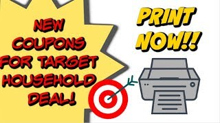 NEW PRINTABLE COUPONS | DEAL UPDATE AT TARGET 11/11 - 11/17 ON SCRUBBING BUBBLES!