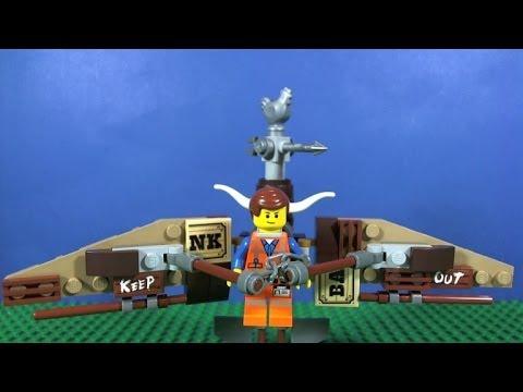 Vidéo LEGO The LEGO Movie 70800 : L'évasion en planeur