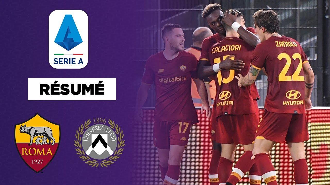🇮🇹 Résumé - Serie A : La Roma fait le job contre l'Udinese
