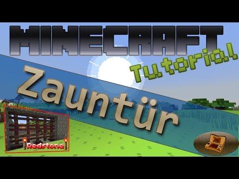 Zauntür - Minecraft Tutorial [Deutsch|HD] #011 | Let's Build