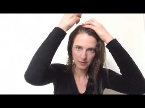 Maska przeciw wypadaniu włosów papryką