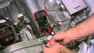 Kenmore He2/He3 Dryer won't start, Checking Thermal fuse, Thermistor