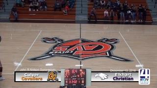 Culver Girls Varsity Basketball vs Elkhart Christian