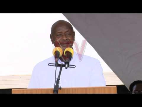 Museveni asiimye UPDF okutebenkeza eggwanga