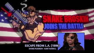 BROFORCE - All CharacteR Intros and References (4 July 2016 update)