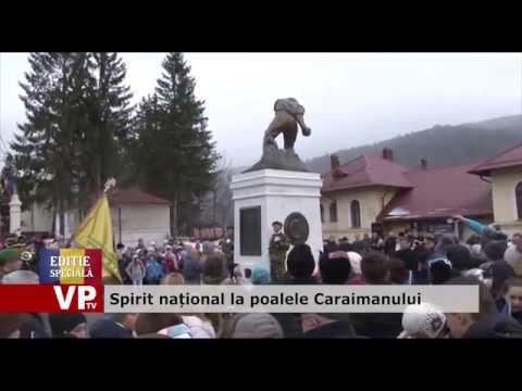 Spirit național la poalele Caraimanului