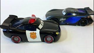 Тачки 3 Маквин vs Банда Джексона Шторма Молния Маккуин Полиция Мультики про Машинки Cars 3 Lightning