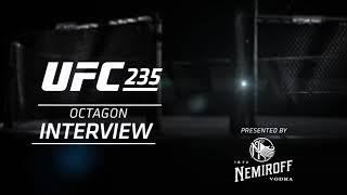 UFC 235 Джон Джонс vs Энтони Смит -слова после боя