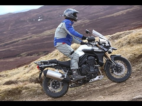 Triumph Tiger Explorer XC launch review