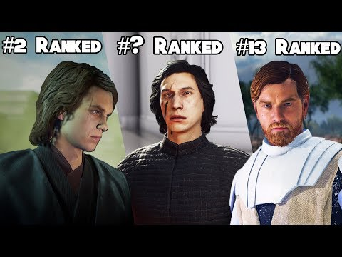 ALL 20 STAR WARS BATTLEFRONT 2 HEROES AND VILLAINS RANKED FROM WORST TO BEST (UPDATED 2019)