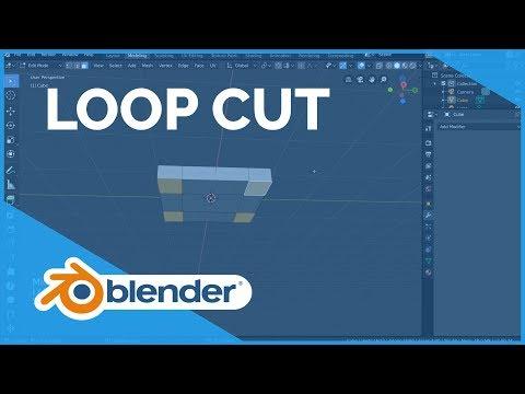 Loop Cut - Blender 2.80 Fundamentals