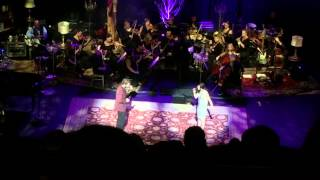 """Josh Groban and Lena Hall sing """"Move On"""" from """"Sunday in the Park with George"""" at the Beacon 9/29/15"""