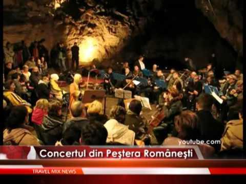 Concertul din Peştera Româneşti – VIDEO