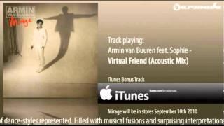 Armin van Buuren feat. Sophie - Virtual Friend (Acoustic Mix)