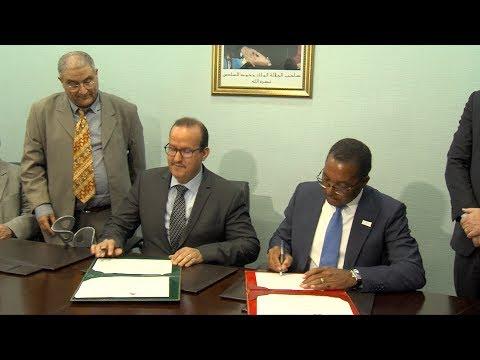 العرب اليوم - شاهد: توقيع عقد شراكة لتنظيم أول دورة للألعاب البارالمبية الأفريقية المغرب 2020