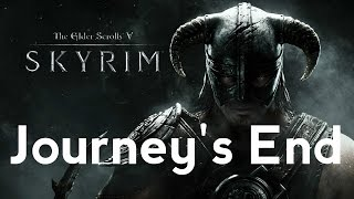 Gareth J. Rubery ✪ Skyrim ✪ The Elder Scrolls V ✪ Journey's End Cover ✪ garethjrubery.com