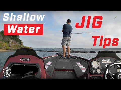 Shallow Water Jig Fishing Tips With LakeForkGuy!