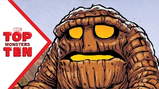 Marvel Top 10 Monsters!