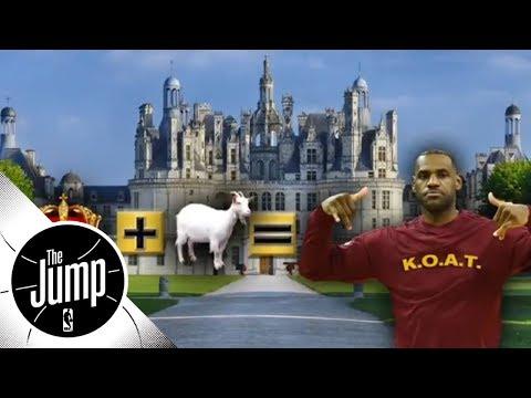 Stephen Jackson calls LeBron James the 'K.O.A.T.'   The Jump   ESPN