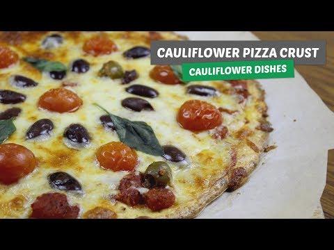 Video recipe: The best cauliflower pizza crust | Cauliflower dishes #2